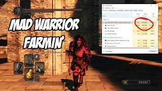 Dark Souls 2 Mad Warrior Armor farming with Task Manager (PC)