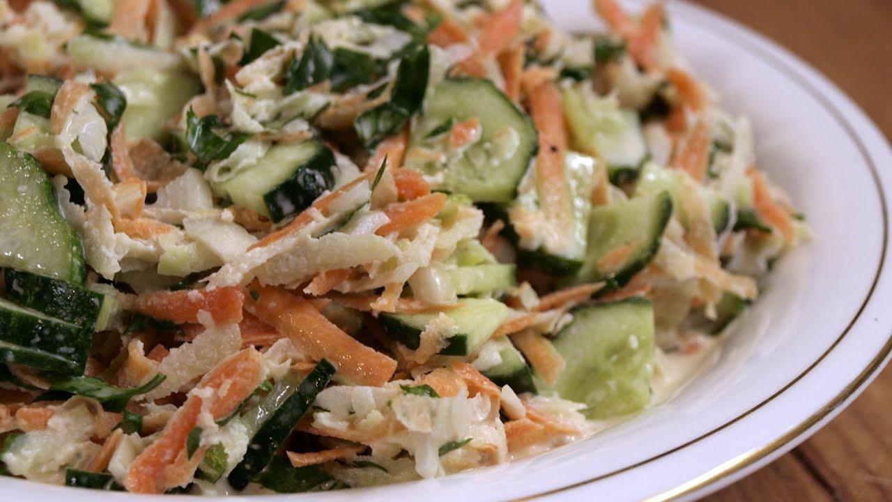 Салат с кольраби рецепт пошагово в