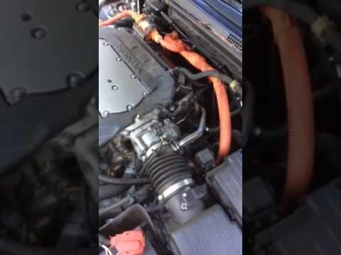 Honda Accord Hybrid 2006 - clicking sound