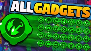 ALL NEW GADGETS GAMEPLAY | Best and Worst Gadgets | Update Sneak Peek in Brawl Stars