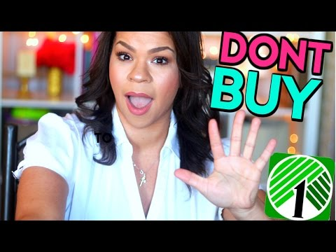 NEVER BUY THESE PRODUCTS FROM DOLLAR TREE | DOLLAR TREE REVIEW | SENSATIONALFINDS