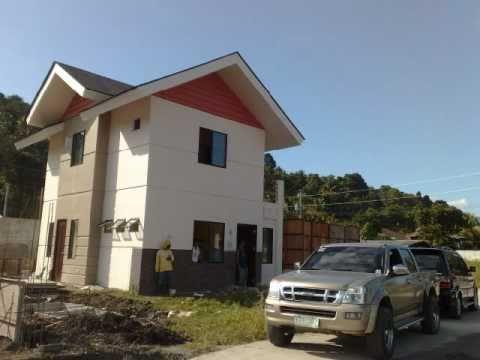 Davao Houses - Hazel House at Villa Azalea Subdivision 2 Storey Davao House