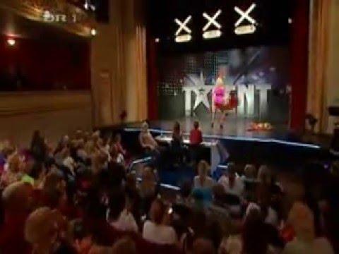 Talent show striptease