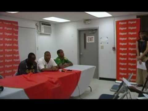 Jamaica-John Barnes Press Confrence Video