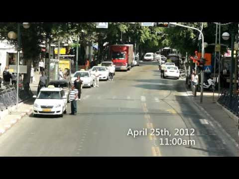 Yom Hazikaron 2012 - 1 Minute Siren