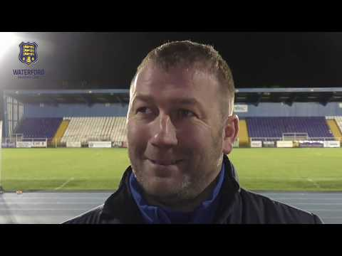 Waterford FC'S Alan Reynolds post-match Interview (Wexford 19-01-2018)