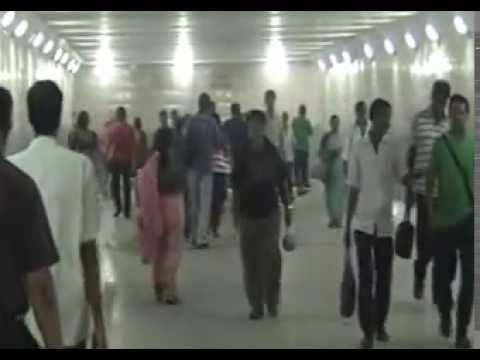 Glimpses of Baguiati(Kolkata) Subway,urban development by Mamata Banerjee
