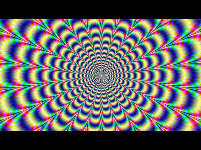 Play this video 92 WILL HALLUCINATE WHILE WATCHING THIS OPTICAL ILLUSION
