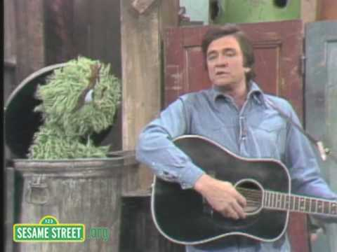 Sesame Street: Johnny Cash Sings Nasty Dan Music Videos