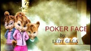 download lagu The Chipettes - Poker Face By Lady Gaga gratis