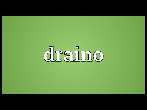 Header of draino