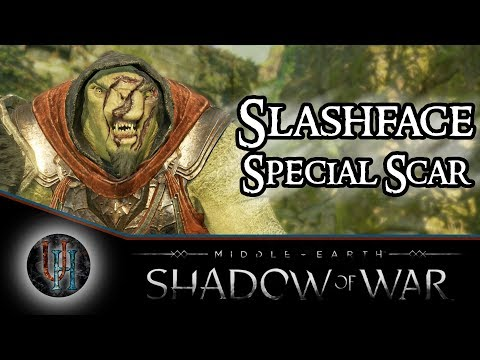 Middle-Earth: Shadow of War - Slashface / The Immortal | Special Scar