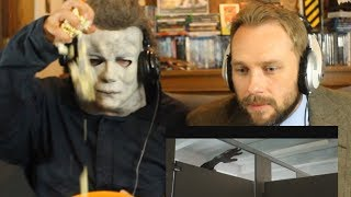 HALLOWEEN Trailer Reaction w Michael Myers and Dr Loomis