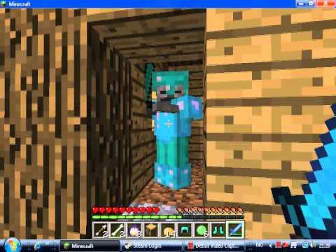 Minecraft Skeleton Wearing