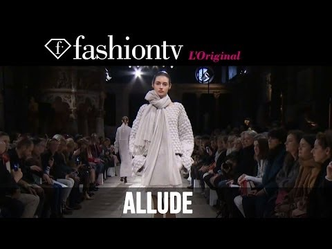 Allude Fall winter 2014-15 Runway Show | Paris Fashion Week Pfw | Fashiontv video