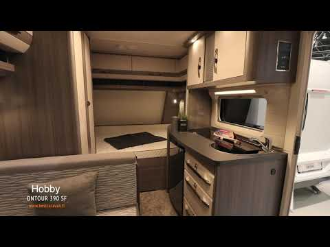 Hobby Ontour 390 SF 2020 matkailuvaunu