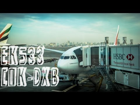 Emirates EK533 : Flight from Kochi to Dubai