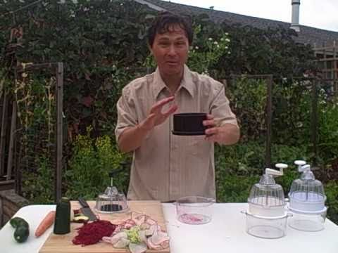 New and Improved Black Spiral Vegetable Slicer Demonstration