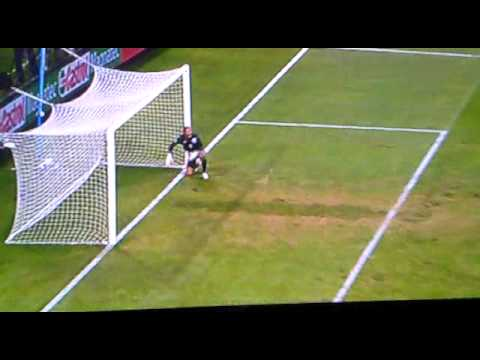 John Terry Fish Dive against Slovenia in World cup 2010 Video