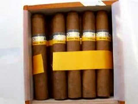 Cohiba Robustos - Cuban Cigar Video