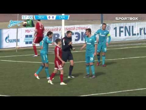 Обзор матча Зенит-2 - СКА-Энергия  0:0