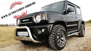 17x accessories for SUZUKI JIMNY GJ and how to install it yourself!