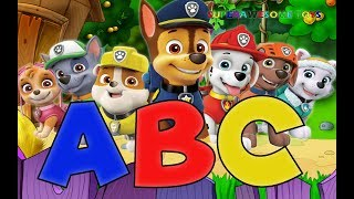 Paw Patrol ABC Song Nursery Rhymes Best Learning Video for Kids| ABC Paw Patrol