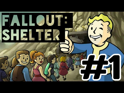 TouchPlay TV plays Fallout: Shelter #1 [ Бункера е отворен 😂]