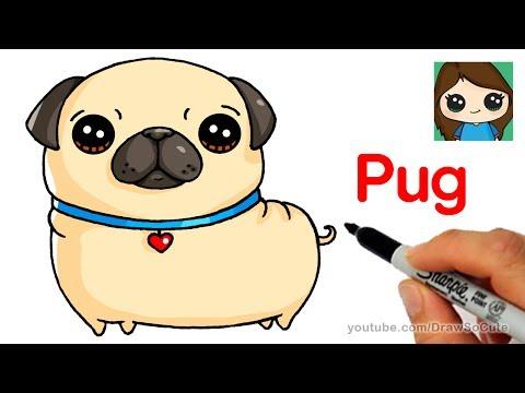 Как нарисовать собаку каваи