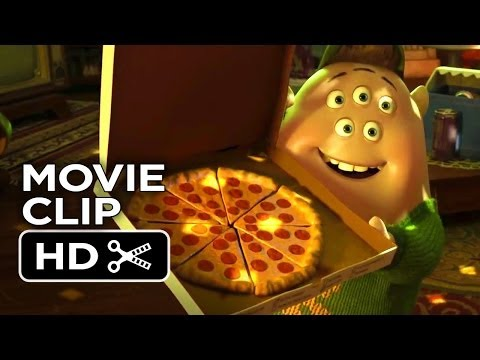 Muppets Most Wanted Pixar Short - Stealing The Party (2014) - Monsters University Short HD
