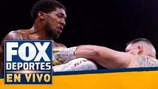 FDenVivo: ¿Qué sigue para Anthony Joshua?