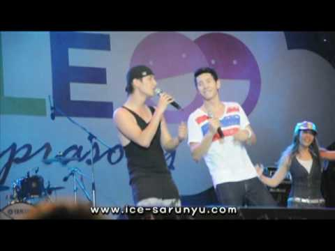 "[Fancam] 100704 ICE Sarunyu Ft. Chin ""Kon Jai Ngai"" SMILE @ Ratchaprasong"