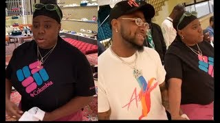Hilarious! Teni Takes Davido Out For Shopping In Dubai, Buys The Whole Shop For Him