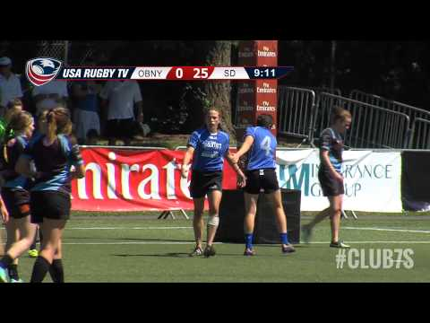 2014 Club 7s Women's National Championship - Old Blue of New York vs. San Diego Surfers
