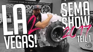 JP Performance - Los Angeles to Vegas! | SEMA SHOW 2017 | Teil 1