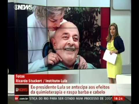 Em tratamento contra câncer, Lula raspa cabelo e barba