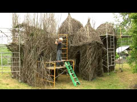 "Patrick Dougherty ""Diamonds in the Rough"" Time Lapse"