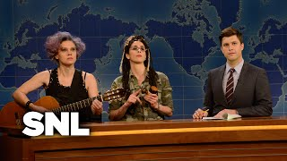 Weekend Update - Feminists - Saturday Night Live
