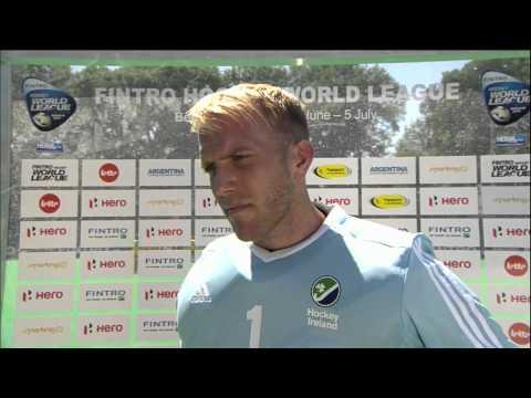 Post Match Interview David Harte