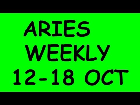 Aries Weekly Tarot Reading October 12 to 18 2015
