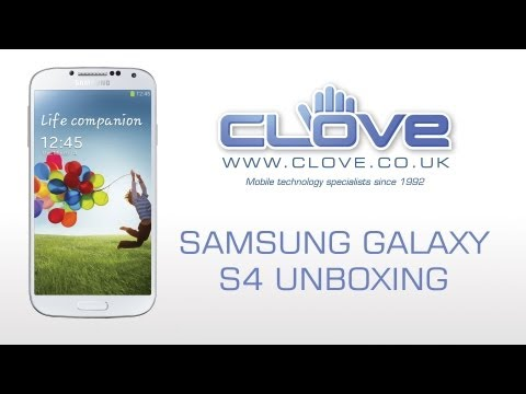 Samsung Galaxy S4 (GT-I9505) Unboxing