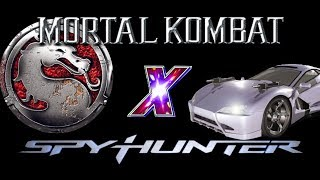 SpyHunter stage in Mortal Kombat: Deadly Alliance (GBA) Spy Facility