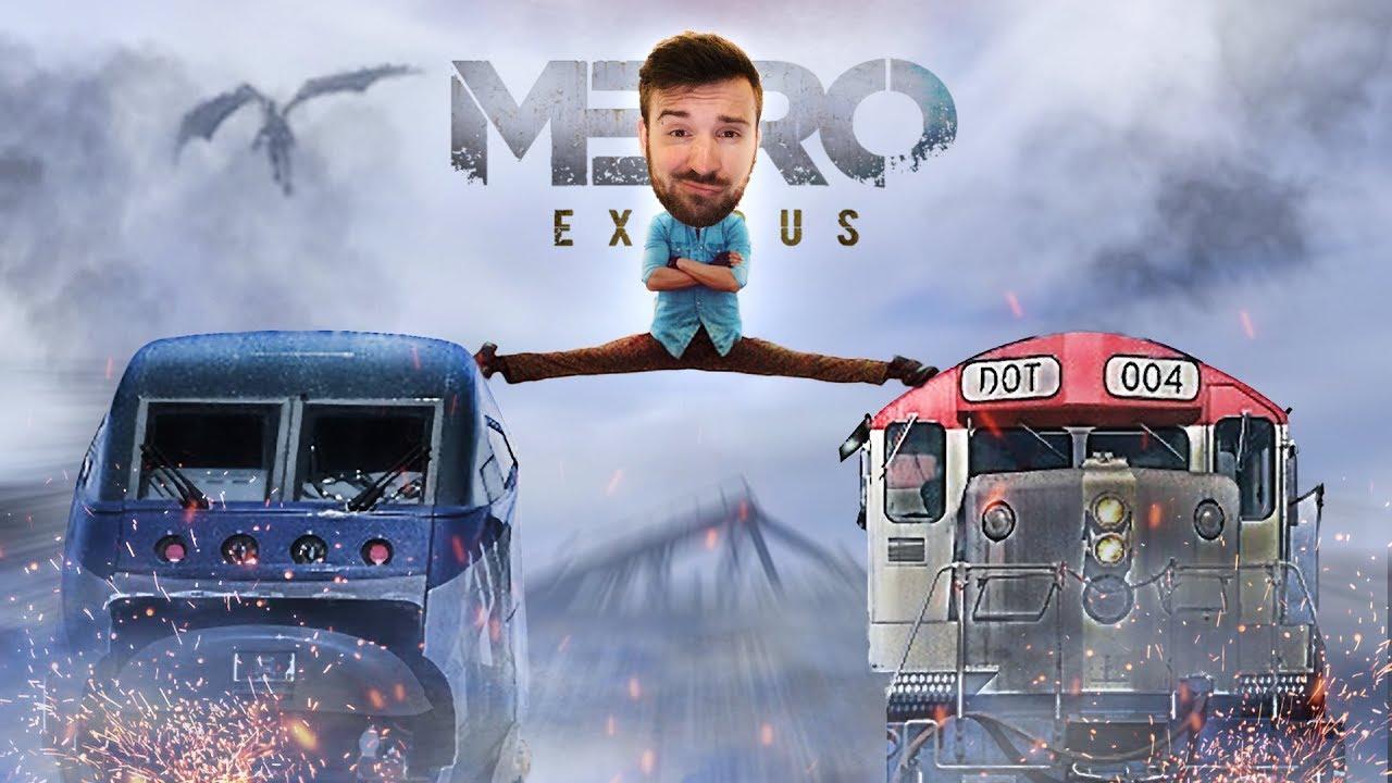 МЕЖДУ ДВУХ ПОЕЗДОВ в Metro Exodus #2