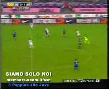 Juventus-Inter 1-3 2003/2004 commento di caressa e bergomi