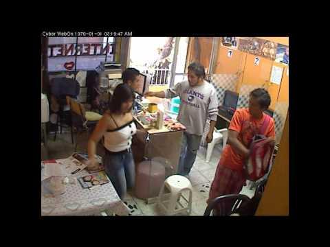 asalto a cybercafe de iztapalapa