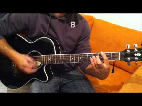 Justin Bieber Pray - How To Play - Real Guitar Chords - Hd video
