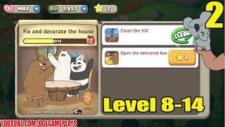 We Bare Bears Match 3 Repairs Gameplay #2 (Level 8-14)