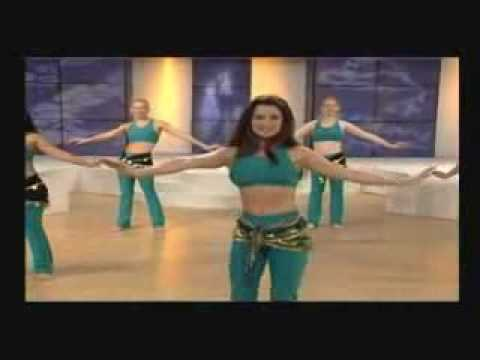 Belly Dance Workout - Part 1 Of 3 video