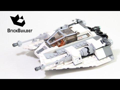 Lego Star Wars 75049 Snowspeeder - Lego Speed Build