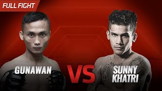 [HD] Gunawan vs Sunny Khatri || One Pride FN #35
